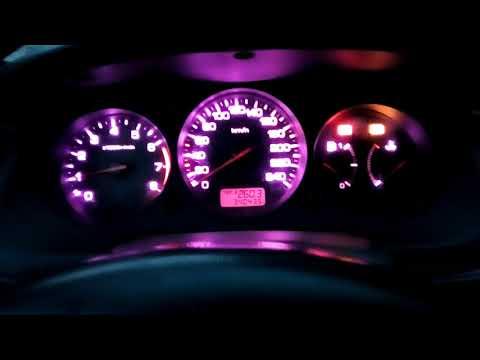 Honda Accord 6 пересвет панели