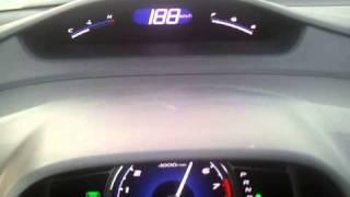 2011 Honda civic 1.8L acceleration 0-213 km\h