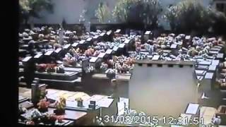 Mulher é flagrada furtando flores  no Cemitério Católico do Centro