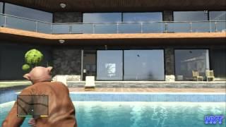 getlinkyoutube.com-GTA5 【フランクリン家にイタズラ! そしたら電話で怒られました】(GTAV PS3 日本語版)