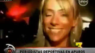 getlinkyoutube.com-METIDAS DE PATA DE REPORTERAS DE DEPORTES EN VIVO SIN CENSURA
