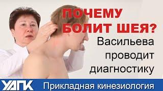 getlinkyoutube.com-Как нестабильность шеи - причина болей в колене. ПРИКЛАДНАЯ КИНЕЗИОЛОГИЯ.