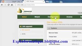 getlinkyoutube.com-شرح إخفاء و تغيير كلمة سر شبكة الويفي في مودام Djaweb