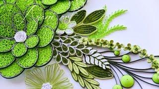 getlinkyoutube.com-Quilling Leaves Tutorial