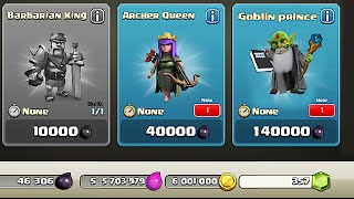 getlinkyoutube.com-Clash Of Clans - NEW DARK HERO??? Goblin Prince (Hidden character!?!)