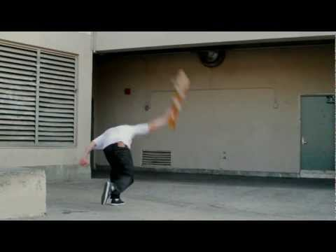 LAKAI BRANDON BIEBEL 'JUST KICKING IT'