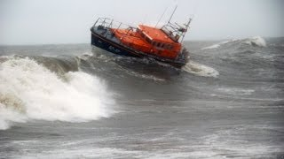 Rescue footage from Scotland's RNLI lifeboats in 2012