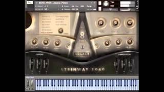 getlinkyoutube.com-8Dio 1969 Steinway Legacy Grand Piano
