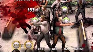 getlinkyoutube.com-Walking Dead : Road to Survival - Level 15 Central Square Zone - Stage 8