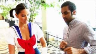 getlinkyoutube.com-Aziz Ansari and Olivia Munn Vanity Fair Interview