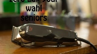 getlinkyoutube.com-How to zero gap your Wahl clippers the easy way