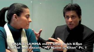 getlinkyoutube.com-Shah Rukh Khan and Kajol meet SAJA & SAMMA: Part 1