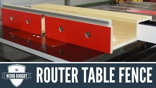getlinkyoutube.com-088 - Router Table Fence (for tablesaw router wings)