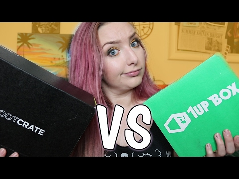 1UP BOX [Force] VS LOOTCRATE [Origins] | January 2017