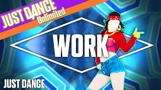 getlinkyoutube.com-Work by Rihanna ft. Drake | Just Dance FanMashup