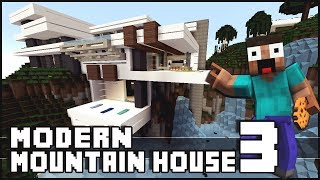 Minecraft - Modern Mountain House 3