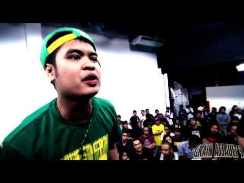 FlipTop - Twizzie vs Kris Delano