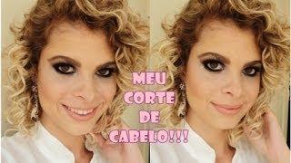 getlinkyoutube.com-Meu corte de cabelo por Sarah Oliveira