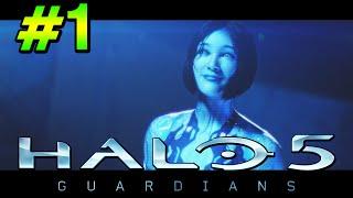 getlinkyoutube.com-Halo 5 Guardians   Mision 1 en Español Latino   Campaña Completa