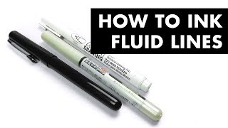 How To Ink Fluid Lines