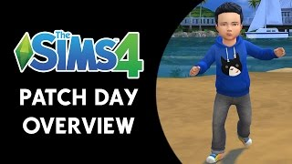 getlinkyoutube.com-The Sims 4: Patch Day Video Overview (TODDLERS!!)