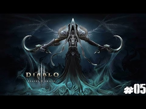 Diablo III Reaper of Souls - Barbarian HD 1080p #05 - T2 Rift Runs