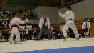 getlinkyoutube.com-2015JKA北信越 Mahiro Takano vs Mahiro Otaki 万優(新潟) vs 真絢(新潟)