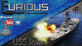 getlinkyoutube.com-World of Warships: USS Iowa. Демократичный линкор