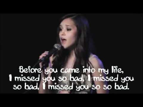 Call Me Maybe - Carly Rae Jepsen - Megan Nicole Cover - Lyrics On Screen