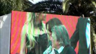 getlinkyoutube.com-SHALYA ET JEAN PIERRE MOCKY  MONTEE DES MARCHES CANNES 2010