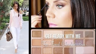 GET READY WITH ME   Too Faced Chocolate bar