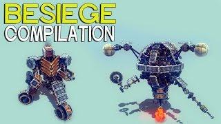 getlinkyoutube.com-►Besiege Compilation - Fallout edition