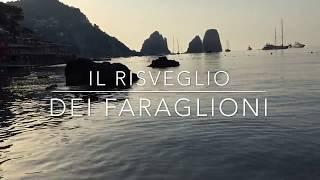 L'alba di mezza estate tra i Faraglioni, Il video é uno spettacolo!