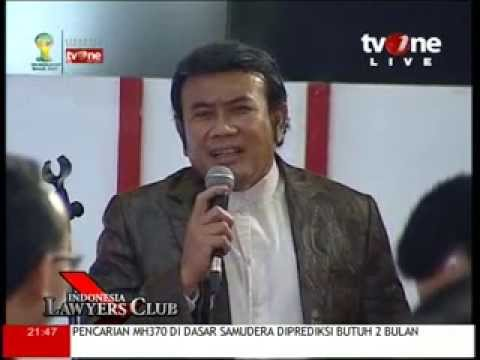 Rhoma Irama In ILC 15 April 2014