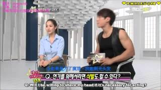 20110410 Section TV with Park Min Young ENG SUB