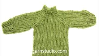 getlinkyoutube.com-How to sew the seam under raglan sleeve (Kitchener sts, grafting, weaving).