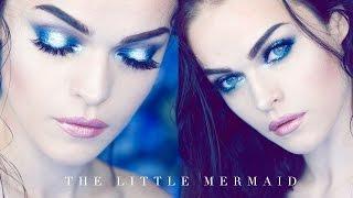 getlinkyoutube.com-THE LITTLE MERMAID I MAKE UP LOOK - Duochrome Eyes
