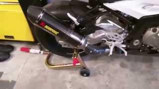 getlinkyoutube.com-2015 S1000RR Akrapovic Carbon Slip-On