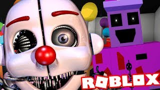 PLAYING AS THE HUMANOID ANIMATRONIC ENNARD || Roblox FNAF Roleplay (Five Nights at Freddys Level)