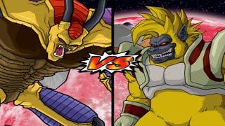 getlinkyoutube.com-Dragon Ball Z Budokai Tenkaichi 3: Hirudegarn y Janemba vs Ozaru Baby Vegeta y Ozaru Kid Goku