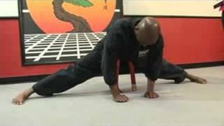 getlinkyoutube.com-Martial Arts Stretches : Martial Arts Splits Stretches