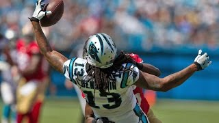getlinkyoutube.com-Kelvin Benjamin Highlights || Coming Back From ACL || Carolina Panthers || 2016-2017 Season ||