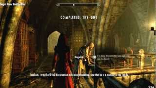 getlinkyoutube.com-Skyrim Dawnguard: Turning Spouse into a Vampire (The Gift Quest Gameplay)