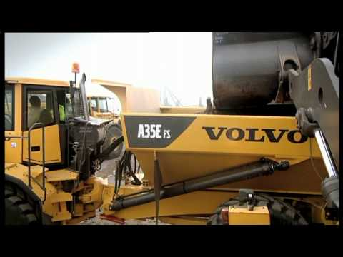 Volvo Articulated Haulers features - Full Suspension
