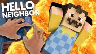 getlinkyoutube.com-Minecraft Realistic: Hello Neighbor - Evil Mannequin Secret! (minecraft roleplay)
