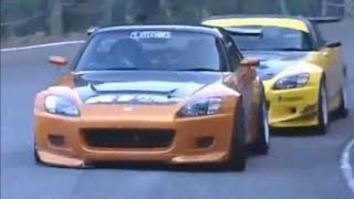 getlinkyoutube.com-J's Racing S2000 vs Amuse S2000 First Ever Touge Battle Ends in a SADDEN DEATH!