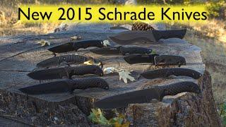 getlinkyoutube.com-NEW! 2015 Schrade Knife Line Up