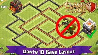 getlinkyoutube.com-Clash Of Clans: TH10 | BEST Farming Base Layout (Latest TH11 Update) - Dante 10
