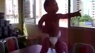 getlinkyoutube.com-Brazilian Baby Dancing - Boy Dancing Baby Doing The Samba In Brazil