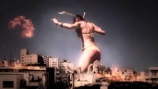 getlinkyoutube.com-どうせ襲われるなら巨大美女の方がいい「進撃の女人 pacific lamb」予告